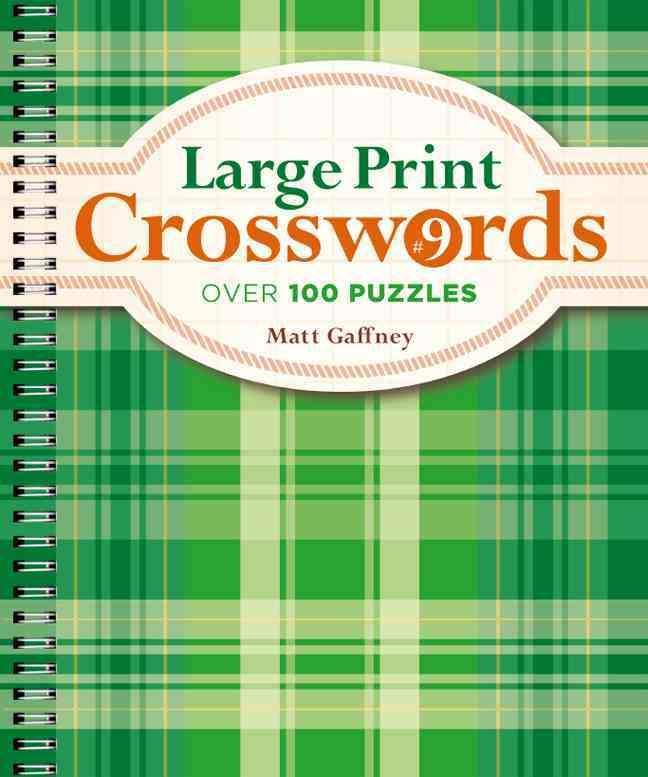 Large Print Crosswords By Gaffney, Matt